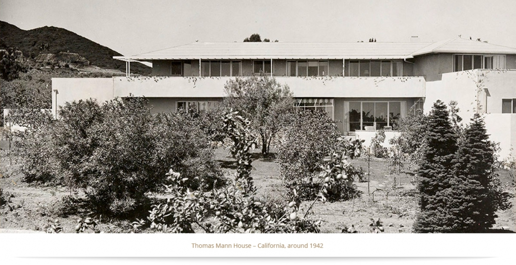 Thomas Mann House – California, around 1942